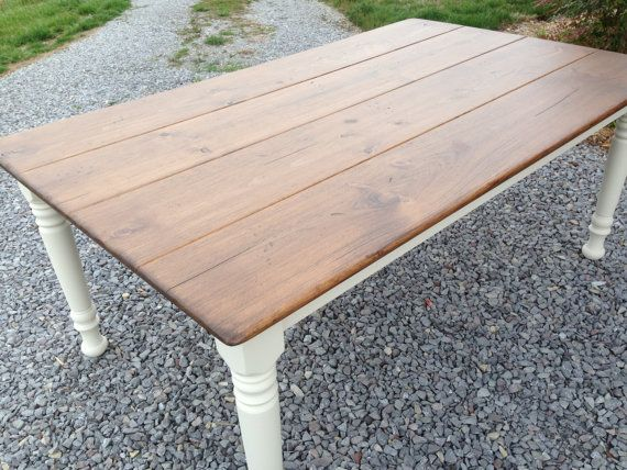 Farmhouse Table, Kitchen Table, Handmade Etsy Furniture, Etsy Farm Tables, Dining Room Table