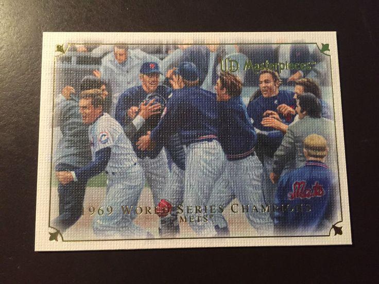1969 New York Mets World Series Upper Deck baseball card- The Amazin' Mets