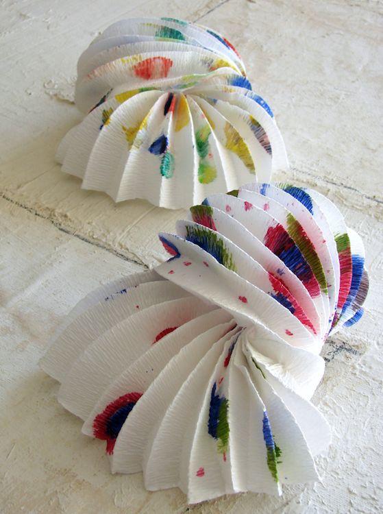 lampade-carta-origami-paper lamp-carta crespa-lanterne-eco design-paper design