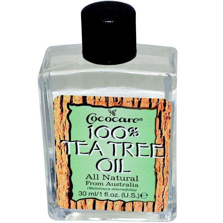 Cococare, 100% масло чайного дерева, 1 жидкая унция (30 мл)
