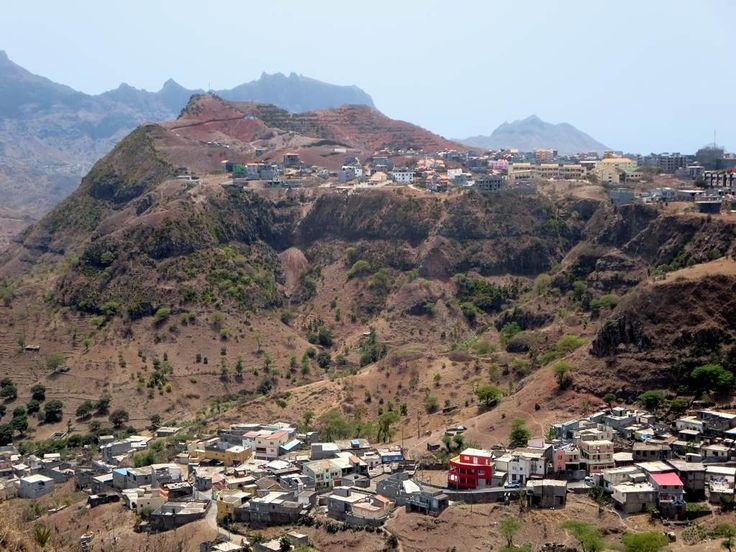 Assomada, the second largest city of Santiago, Cape Verde, sits on a high plateau near the center of the island.