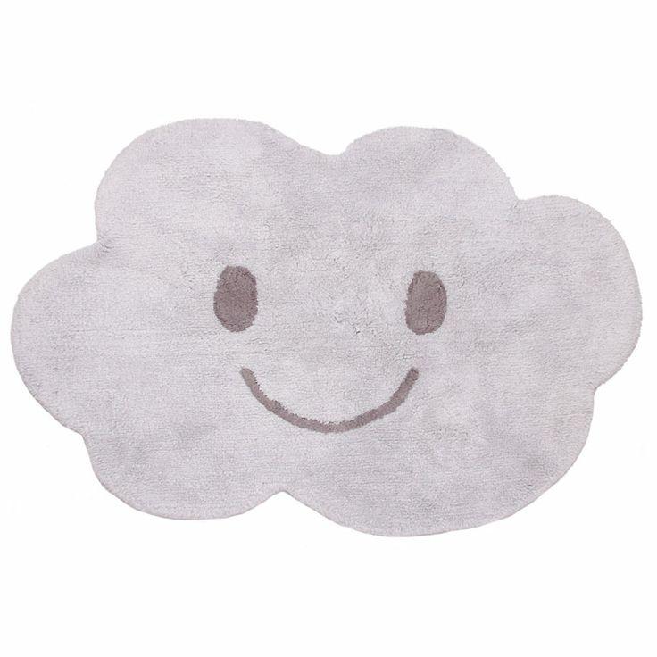 Tapis enfant lavable Nimbus -  http://www.machambramoi.com/tapis-coton-lavable-enfant-bebe/4511-tapis-enfant-lavable-nimbus-nattiot-3700470214439.html