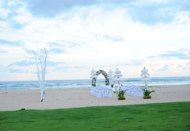 A Beach Wedding at Ayodya Resort Bali.