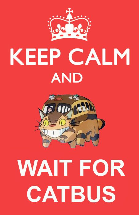"The ONLY time I will ever like a ""keep calm and ..."""