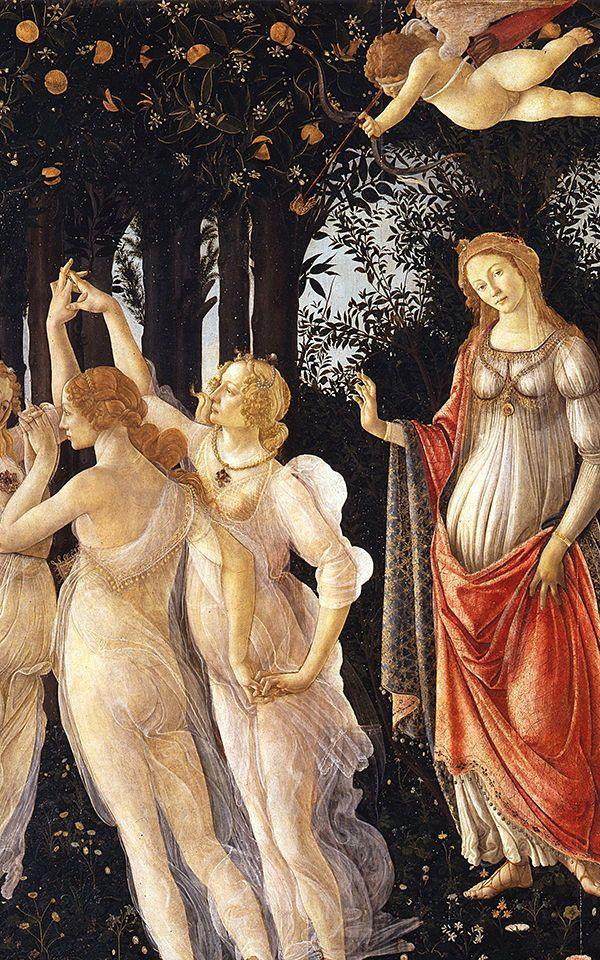 Botticelli Wallpaper Primavera Mural Muralswallpaper Early Renaissance Painting Renaissance Paintings Botticelli Paintings