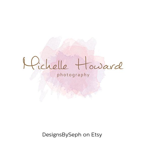 Pre-made Logo Design with Photography Watermark  by DesignsBySeph