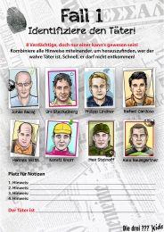 Detektiv-Fälle lösen :: Drei Fragezeichen Kids