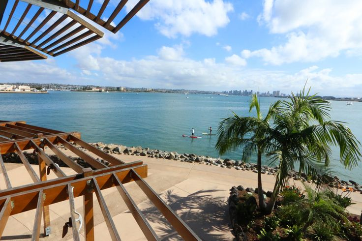Gorgeous Day. The Daring Gourmet Dines Out:  Bali Hai Restaurant, Shelter Island, San Diego, California