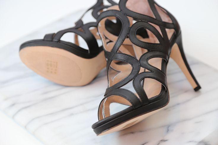Comfy Black Heels
