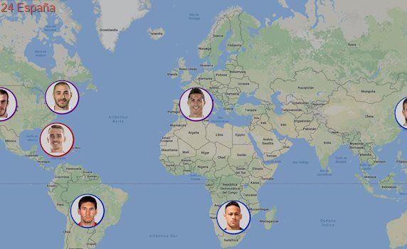 Piqué y Neymar, los futbolistas que más kilómetros han recorrido en sus vacaciones