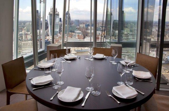 db Eats: Oblix - our intrepid journalist fights vertigo at one London's highest restaurants.
