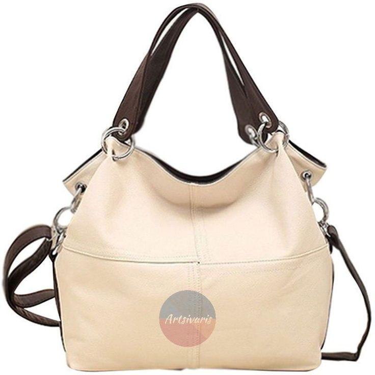 Women Lady Fashion Leather Satchel Handbag Shoulder Tote Messenger Crossbody Bag   eBay