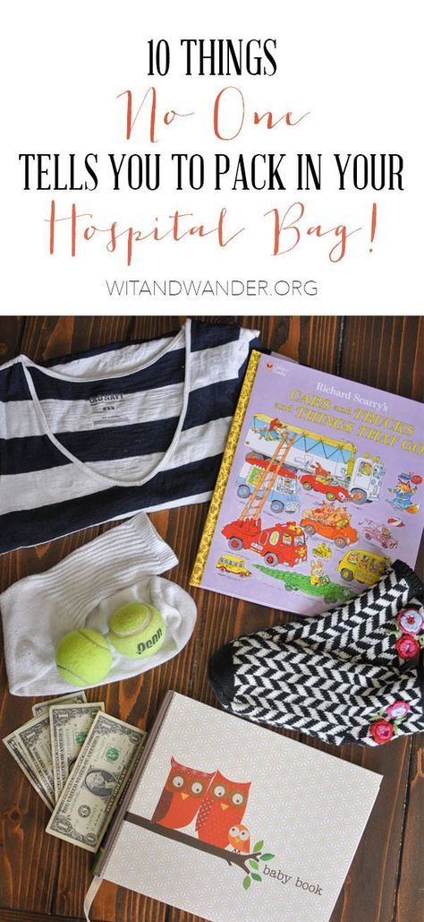 Free Hospital Bag Checklist - 10 Things No One Tells You to Pack in Your Labor and Deliver Hospital & Delivery Bag | Wit & Wander | Freebie, Free Printable, Hospital Bag Packing List, Instant Download