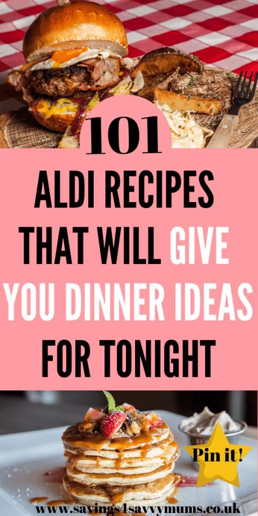 Here Are 101 Aldi Recipes That Will Give You Cheap Dinner Ideas Tonight We Ve Included A Meal Plan And Shopping List Aldi Recipes Aldi Meal Plan Cheap Dinners