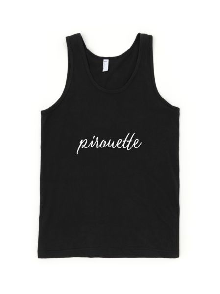 Pirouette Youth Tank Top. #danceapparel #dancerclothes #balletdancer #ballet