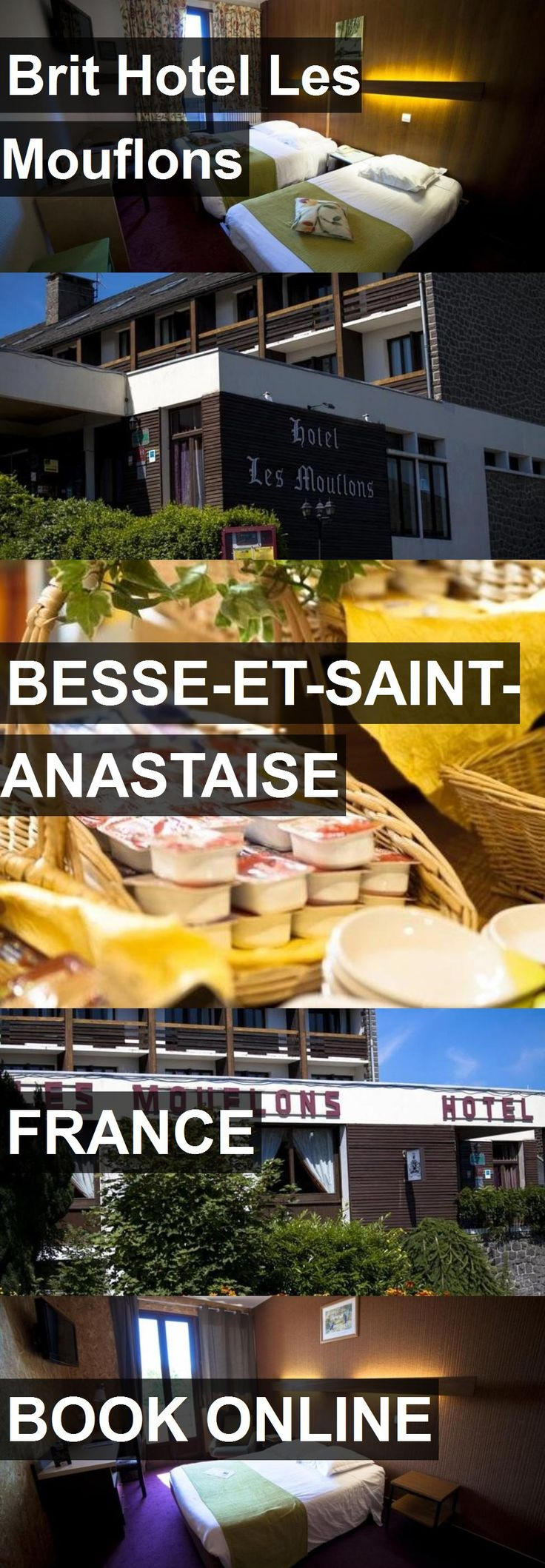 Hotel Brit Hotel Les Mouflons in Besse-et-Saint-Anastaise, France. For more information, photos, reviews and best prices please follow the link. #France #Besse-et-Saint-Anastaise #BritHotelLesMouflons #hotel #travel #vacation