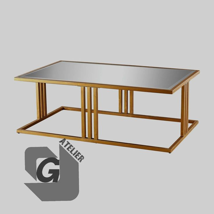 Coffee Table Dimensions: H=42cm D=52cm L=110cm (Sizes can be changed upon request)  Material : Steel gold powder coated Top: 8mm Glass seamed edges Call or Whatsapp 70 95 71 75 or 70 80 33 11 #console #Steel #Industrial #Lasercut #StainlessSteel #Welding #CustomizedDesigns #Coffeetable #Sidetable #Chairs #Diningtable #supermirror #bestprices #lebanon #beirut