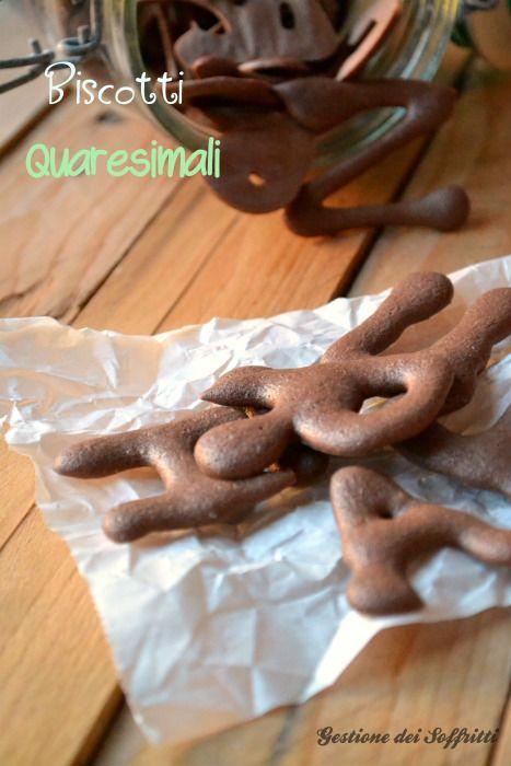 Quaresimali, antichi biscotti di Firenze: la ricetta tradizionale ------------- Quaresimali: florentine Lenten biscuits   http://www.gestionedeisoffritti.com/dolci/quaresimali-fiorentini/