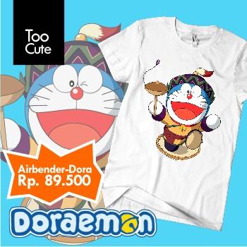Kaos Doraemon - Airbender