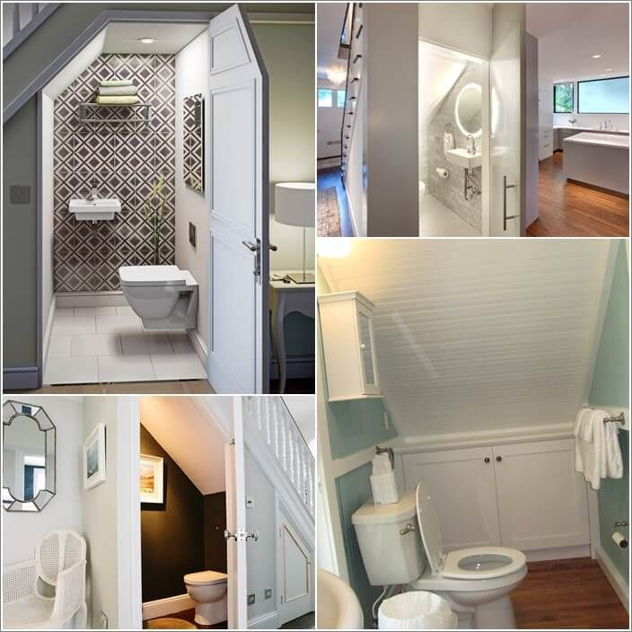 10 features to add to an under stairs bathroom - Bathroom Designs Under Stairs