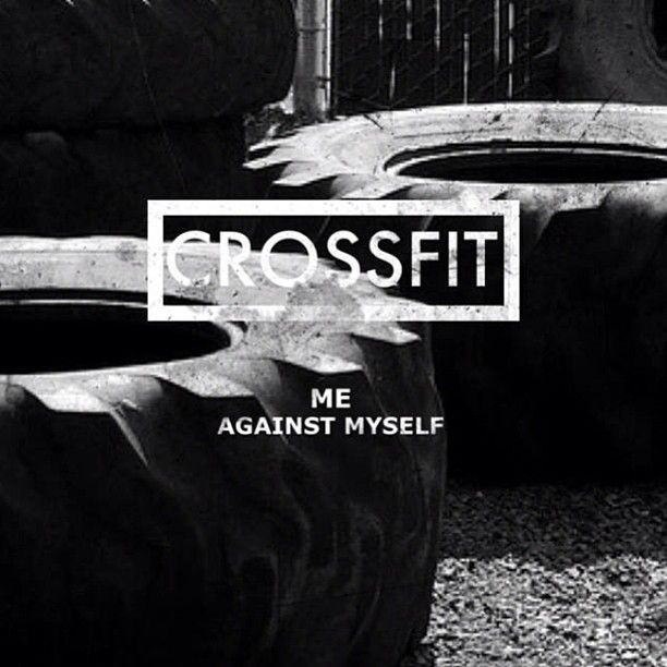 Becoming more excited and addicted to #crossfit #motivation