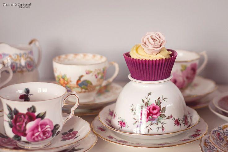 Cupcake On Sugar Bowl