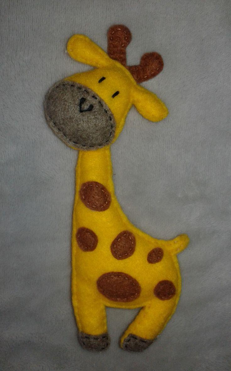 Żyrafa filc