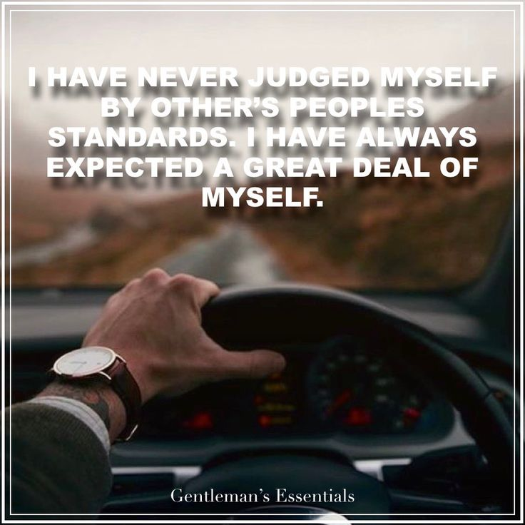 Standards Quote     www.gentlemans-essentials.com
