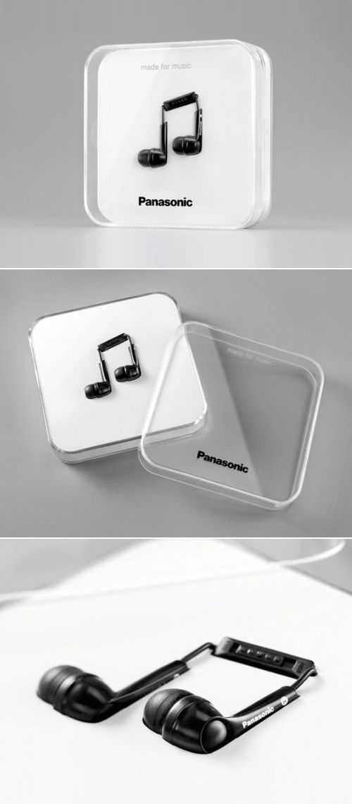 #packaging Panasonic Earbuds