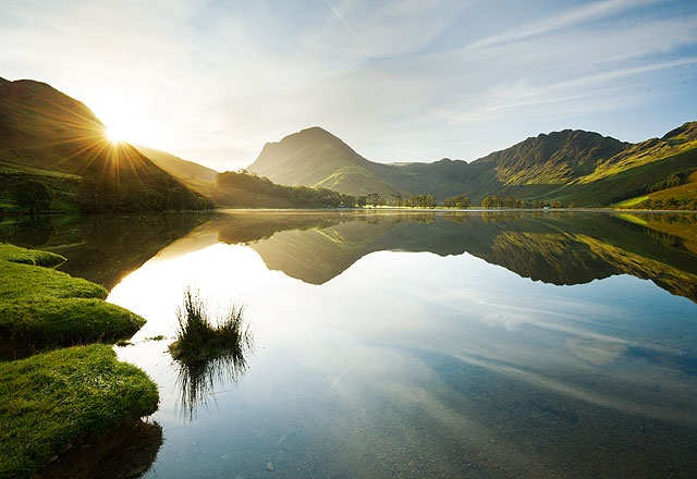 Buttermere is said to have been the location of a hidden stronghold used by Cumbrian guerillas campaigning against Norman invaders in the 11th century.