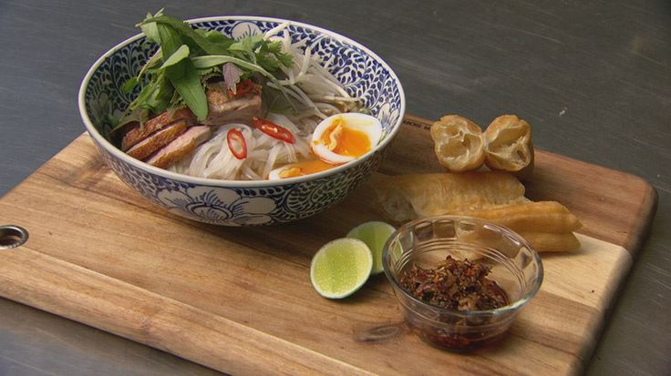 Non-Traditional Vietnamese Duck Pho - Gary Mehigan, MasterChef