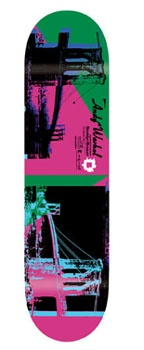 Do you collect skate boards? Our Andy Warhol 1983 Brooklyn Bridge image was reproduced by Alien Workshop on this limited edition skate deck.