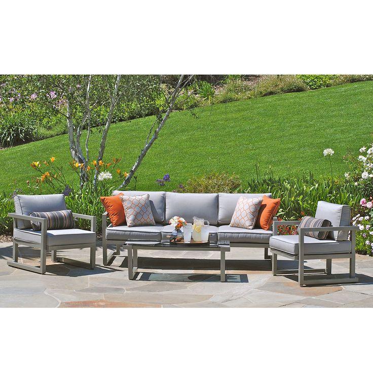 Kelowna aluminum 4 piece patio seating set sam 39 s club for Outdoor furniture kelowna