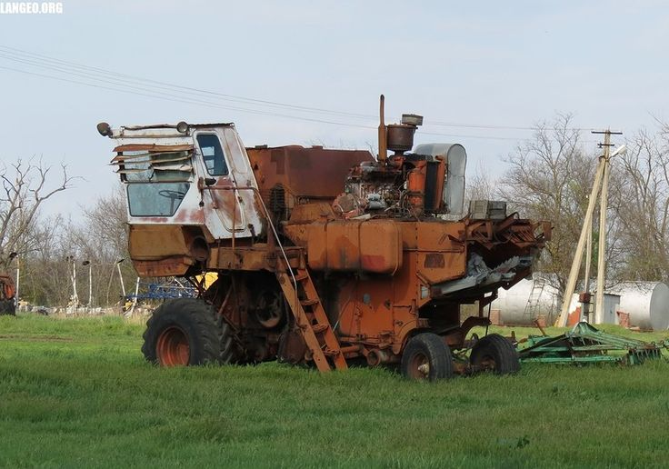 LANGEO.ORG: Металлолом. Scrapyard.