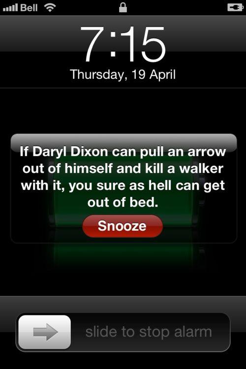 Daryl Dixon Meme | ... The Walking dead: Daryl Dixon (Norman Reedus) Motivational Meme 2