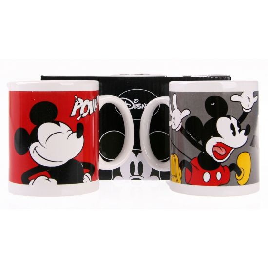 Twee Mickey Mouse koffiemokken   Cartoon artikelen & cadeaus