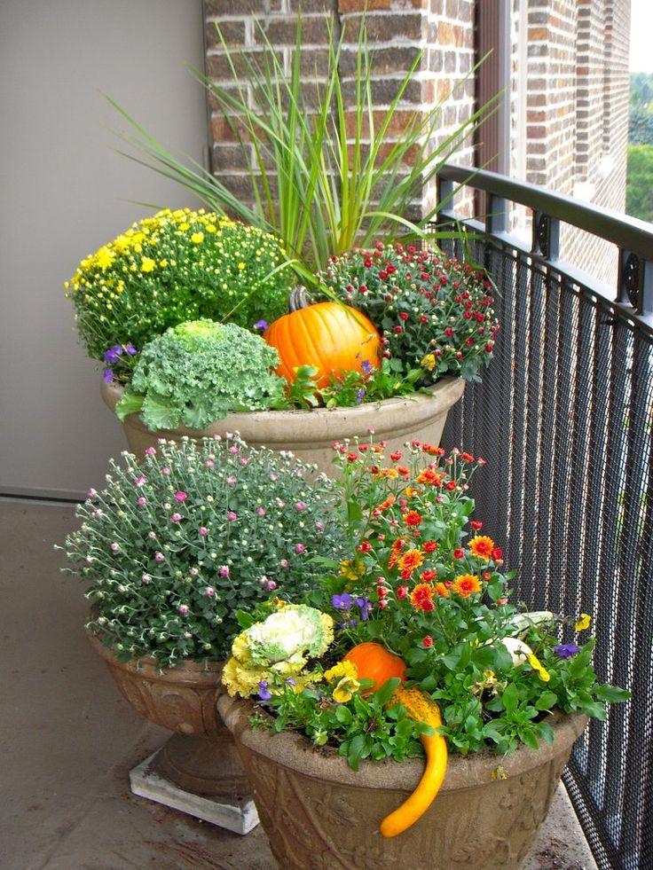 25 best ideas about Fall planters on PinterestOutdoor fall