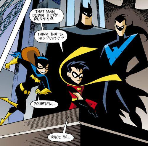 Batgirl and robin romance - photo#22