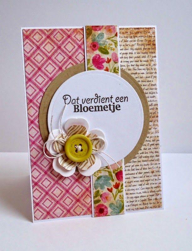 Because it's fun to create...: Vrolijke kaarten voor een klant (serie)