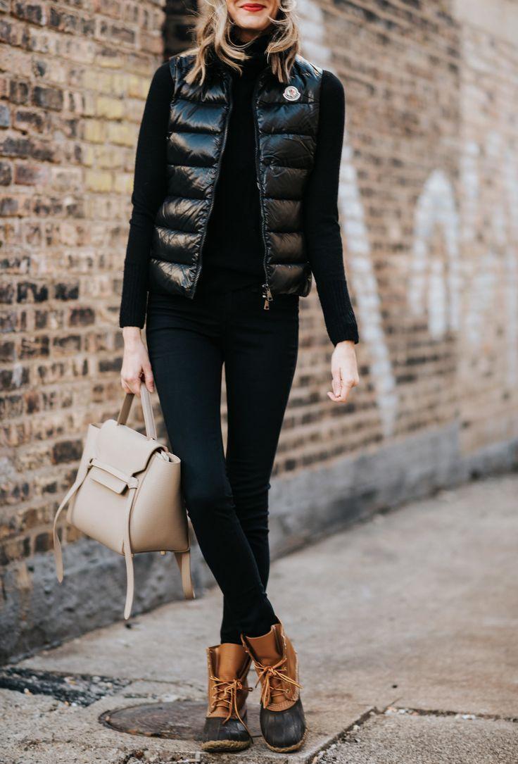 1152b45f92 urban chic moncler weekend uniform winter ll bean boots