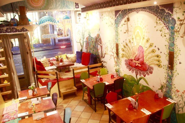 Restaurant Golden Temple Amsterdam vegetarisch kleurrijk vegan