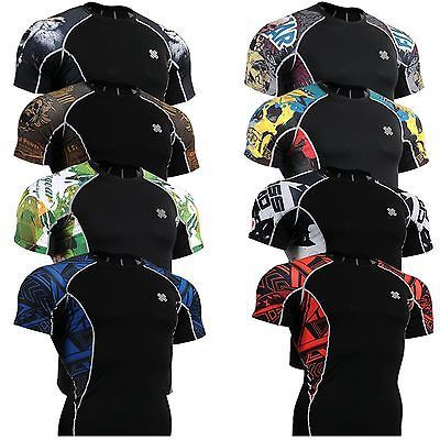 Other Mens Fitness Clothing 40892: Fixgear Mens Womens Compression Tight Shirts Base Layer Top Mma Clothing S~4Xl -> BUY IT NOW ONLY: $30 on eBay!