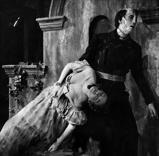 The Curse of Frankenstein 1957 Hazel Court &  Christopher Lee directed by Terence Fisher.