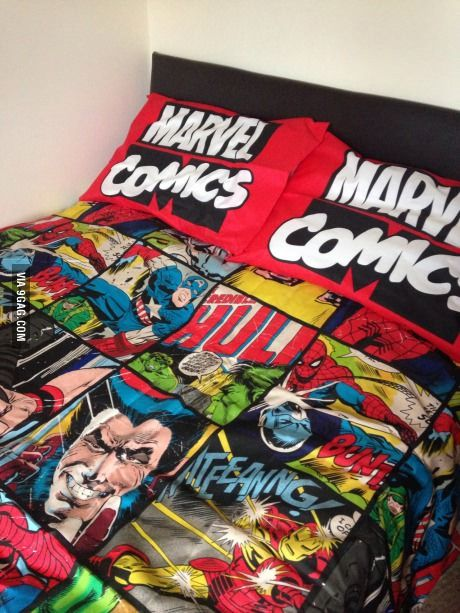 Yes you can all be jealous of my bedding