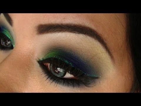 Tutorial de maquillaje: Smokey inspirado en Pavo Real - Juancarlos960 - YouTube