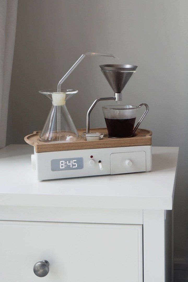 You NEED This Coffeemaker Alarm Clock in Your Life —and You Can Preorder It Now!
