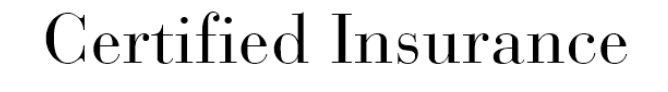 Bauer Bodoni Regular - I feel like this speaks serious, but simple. Insurance is serious, and can be complicated, but a easy to read font can make it a little less complicated. And this font reminds me of what would you would see on a certificate or business card.