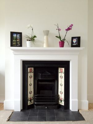 Fireplace 1930s house
