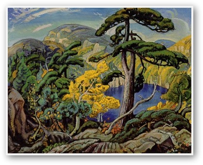 "Arthur Lismer - ""Bright Land"""