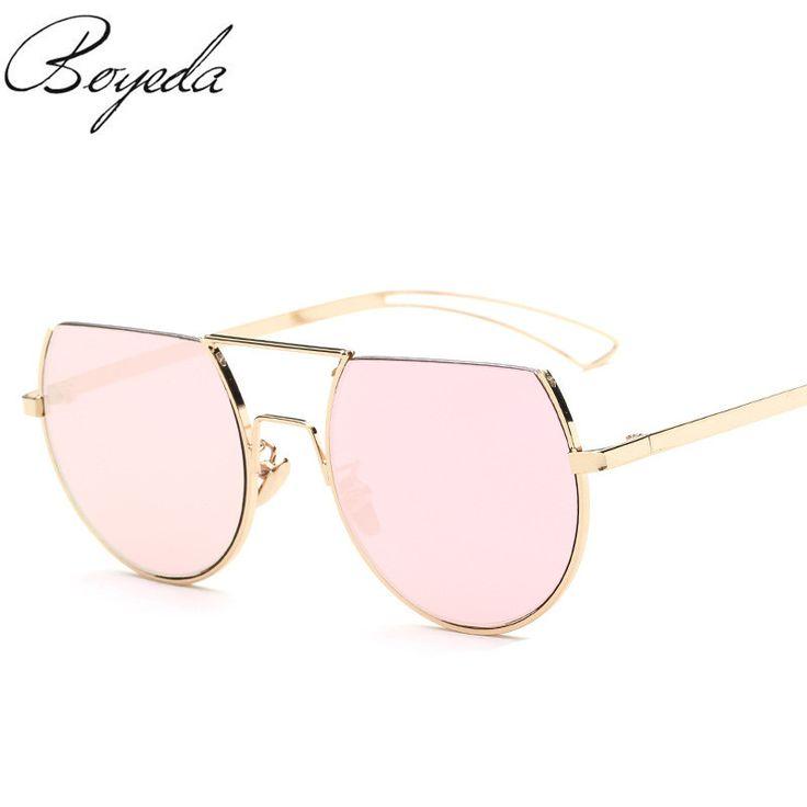 2017 Fashion Semi-rimless Frame Resin Lenses Sun Glasses Europe and America Women Sunglasses Cool Eyewear Oculos de sol Feminino